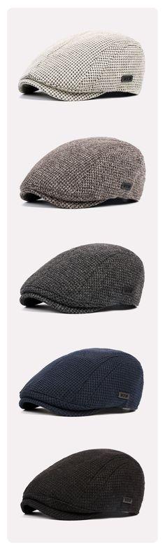 56%OFF&Free shipping. Newsboy Hat, Cabbie Hat, Men's Cotton Wool Gatsby Beret Cap, Golf Driving Flat. Color: Black, Beige, Dark Grey, Navy, Coffee. Shop now~