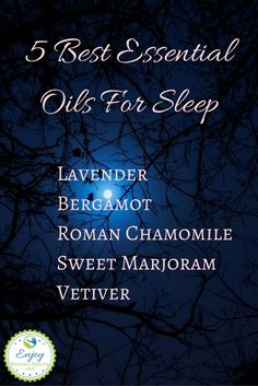 These 5 essential oils are my favorite sleep helpers. See how I use them to help me sleep better than ever