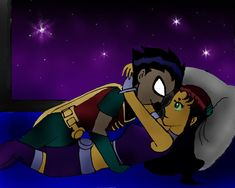 Robin and Starfire's Daughter | The Passion Night by Starfirelovers