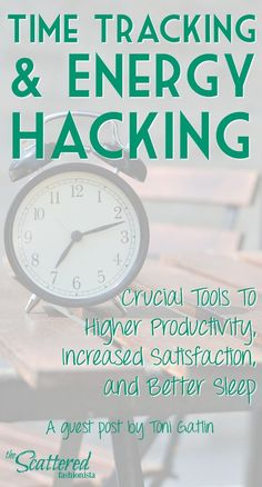 Time Tracking and Energy Hacking: Crucial Tools To Higher Productivity, Increased Satisfaction, and Better Sleep | Do you… http://itz-my.com