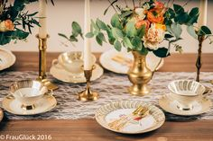Vintage Geschirr in Berlin leihen - exklusive kreative Hochzeitsplanung