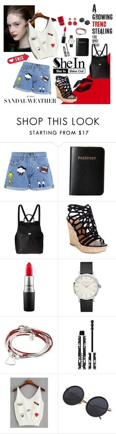 """""""Don't Miss Out"""" by tainted-scars ❤ liked on Polyvore featuring Paul & Joe Sister, Vera Bradley, Dolce&Gabbana, Charles by Charles David, MAC Cosmetics, Lizzy James and Givenchy"""