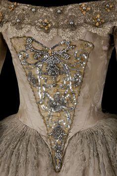 Costume designed by Lila de Nobili for Ludmilla Mikael in the 1960 production of Victor Hugo's Ruy Blas From the Centre National du Costume de Scene