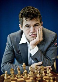 Chess Grandmaster Magnus Carlsen.