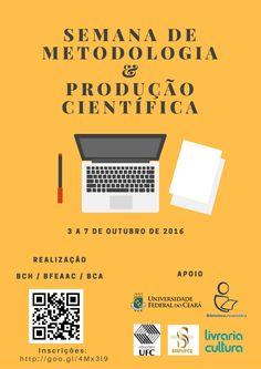 I Semana de Metodologia & Produção Científica - 2016
