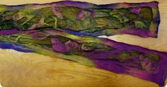Nuno felting is a technique developed in 1994 by the textile artists Polly Stirling and Sachiko Kotaka. By manipulating a small amount of w...