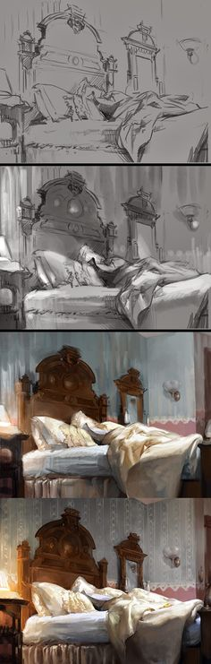 Fantasy Illustration Blog by Cynthia Sheppard: Process and Tutorials