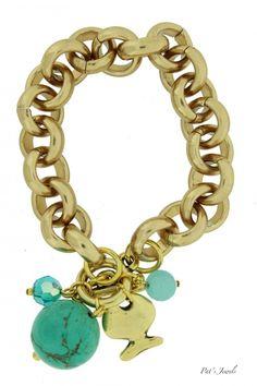 Golden Classy Turquoise   Golden Classy   Pat`s Jewels