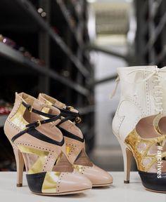 Miu Miu, Stiletto Heels, High Fashion, Valentino, Luxury, Shoes, Design, Style, Couture
