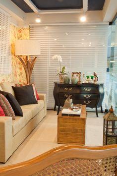 Vitrine assinada por Raquel Salgado Interiores loja Casa Fortaleza -Casa Shopping RJ