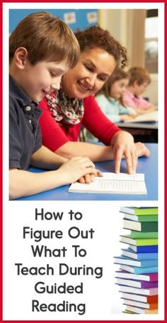 There are SO many things that you *could* teach students during guided reading time. How do you know what you should be focusing on? Read this post to find out!