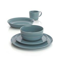Hue Blue Dinnerware | Crate and Barrel