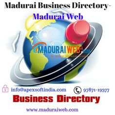Madurai web is the best directory in Madurai. Which get all information  about the products like computers, furniture, building and construction, equipments,  etc. Madurai Web is the best Madurai Directory in Tamilnadu.