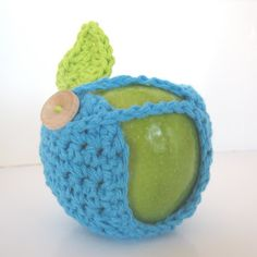 CROCHET N PLAY DESIGNS: Free Crochet Pattern: Apple Cozy
