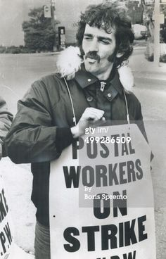 News Photo : Last postal workers' strike in October 1978 was...