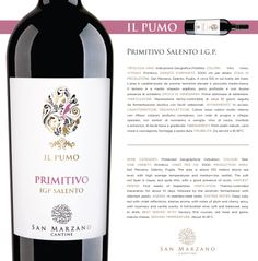 Primitivo #Salento I.G.P.: colore rosso rubino molto intenso con riflessi violacei; profumo complesso, con note di prugna e ciliegia, speziato, con sentori di rosmarino e vaniglia. #Vino di corpo, morbido e armonico, di facile beva e gradevole. Primitivo Salento I.G.P.: deep ruby red with violet reflections; intense aroma, with notes of plum and cherry, spicy, with rosemary and vanilla scents. A full-bodied #wine, soft and balanced, easy to drink. #wein #vinho #winelovers #winetime
