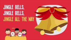 Learn opposites with the popular Jingle Bells song for kids!  #christmas #preschool #kindergarten