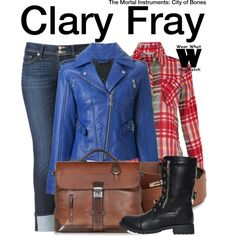 Inspired by Lily Collins as Clary Fray in The Mortal Instruments: City of Bones. Funky Outfits, Hot Outfits, Colourful Outfits, Summer Outfits, Tv Show Outfits, Fandom Outfits, Movie Inspired Outfits, Themed Outfits, Fandom Fashion