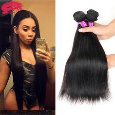 Peruvian Virgin Hair Straight 4 Pcs Ms Lula Hair 7A Unprocessed Virgin Human Hair Weave Peruvian Straight Virgin Hair Bundles - http://jadeshair.com/peruvian-virgin-hair-straight-4-pcs-ms-lula-hair-7a-unprocessed-virgin-human-hair-weave-peruvian-straight-virgin-hair-bundles/  Hair Weaving