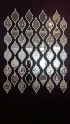 Ayna#mozaik# tanyildiz# su dalgası#dekor# nazmiyesayinnar#