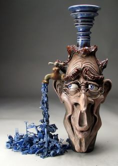 Mitchell Grafton - Creative Flow Ceramic Sculpture (http://www.hiddenridgegallery.com