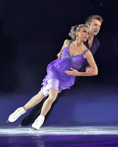 Torvill and Dean skating today and as amazing as always.