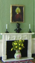 DIY project: Anna-Carin's 1:144 scale Georgian fireplaces.   Techniques should work for 1 : 48th scale.
