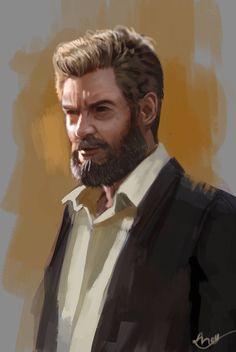 Andyliongart - Marvel X-Men Logan 2017 Images, Marvel X, Social Community, Character Concept, X Men, Art Sketches, Logan, Deviantart, Comics