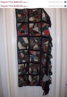 Bonus 15 Off  Sale Victorian Antique Crush Velvet Quilt by MICSJWL, $409.42