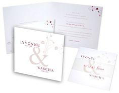 Hochzeitseinladungskarten+-+Blätter Place Cards, Place Card Holders, Invites Wedding, Fiction, Card Wedding