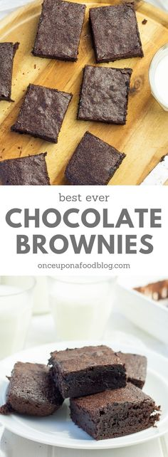 These Gooey Chocolate Brownies have a crisp, sugary top and are deliciously soft, gooey and fudgy inside. Why not get baking with the kids this Easter? #brownies #chocolatebrownies #fudgychocolatebrownies #bestchocolatebrownies #loadedbrownies #loadedfudgybrownies #easterbrownies #easychocolatebrownies #gooeychocolatebrownies #gooeybrownies #bestbrownies