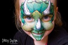 Monster: Kapiti, Wellington, New Zealand Outstanding Face and Body Painting on… Dinosaur Face Painting, Monster Face Painting, Dinosaur Halloween, Halloween Face, Pregnant Belly Painting, Fantasy Make Up, Face Painting Designs, Painting Gallery, Face Design