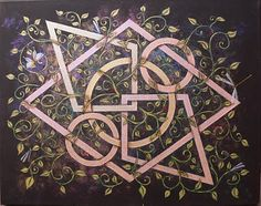 Interconnectedness - C Seager Simple Shapes, Beautiful Paintings, Man Cave, The Man, How To Apply, My Love, Creative, Artwork, Artist