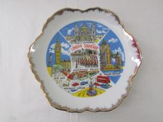 15-0905 Vintage 1960's London Souvenir Plate / by CajunRabbit