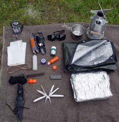 DIY Survival Kit (Lists & Videos)