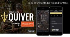 best hunting apps for 2017 Hunting Tips, White Tail, Quiver, Apps, App, Appliques