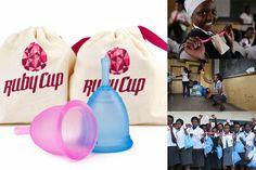 Ruby Cup - Menstruationscup mit Herz ♡ Fairwandlung #rubycup #menstrualcup #menstruationstasse #socialmission #green