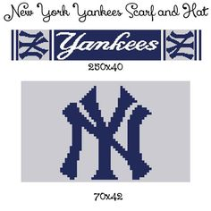 New York Yankees yankees Yogi Berra yankees by CrochetInfinity2