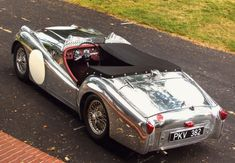 Le Mans Works Inspired Hot Rod: Aluminum Bodied 1957 Triumph TR3