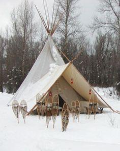 Tipi at Camp