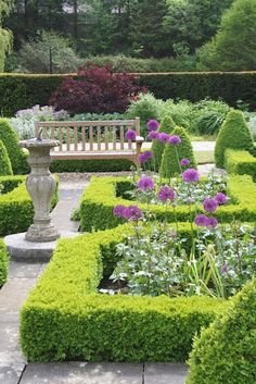 formal garden I would like a parterre in my garden