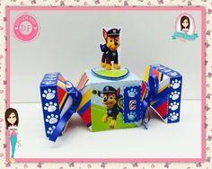 Caixa De Bala - Patrulha Canina - Dani Festas Personalizadas