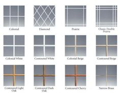 Ply Gem Windows Offer A Wide Variety Of Grid Styles There