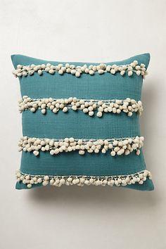 Tassel Trace Cushion #anthropologie