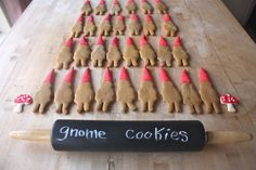 Gnome Cookies - Woodland Party