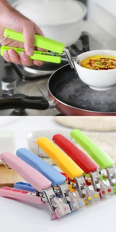 A hand-picked collection of kitchen utensils & tools you will love. Food preparation is easy and quick with those kitchen cooking utensils and gadgets. Must Have Kitchen Gadgets, Kitchen Tools And Gadgets, Cooking Gadgets, Gadgets And Gizmos, Cooking Tools, Kitchen Items, Kitchen Utensils, Kitchen Appliances, Useful Gadgets
