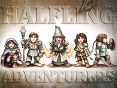 Halfling Adventurers Miniatures project video thumbnail