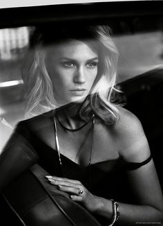 January Jones by Vincent Peters for Vogue Italia • 2014