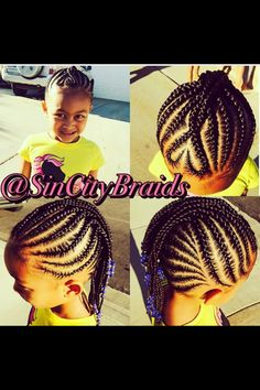 Cute braid style for my little one