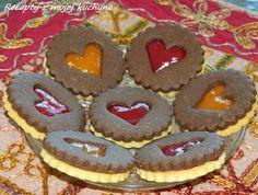 RECEPTY Z MOJEJ KUCHYNE A ZÁHRADY: Kakaové linecké pečivo